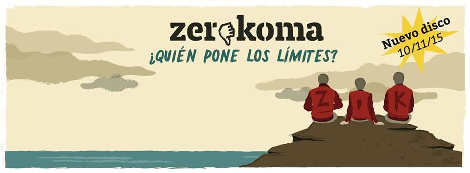 """PRIMER DISCO DEL GRUPO VALENCIANO """"ZEROKOMA""""."""