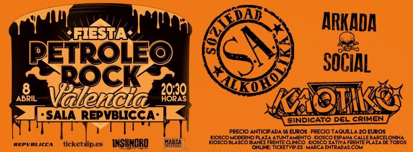 CRONICA CONCIERTO «PETROLEO ROCK».