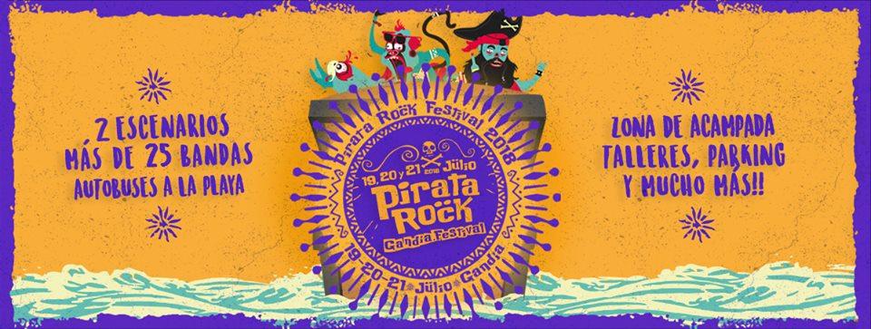 """2ª EDICIÓN DEL FESTIVAL """"PIRATA ROCK""""."""