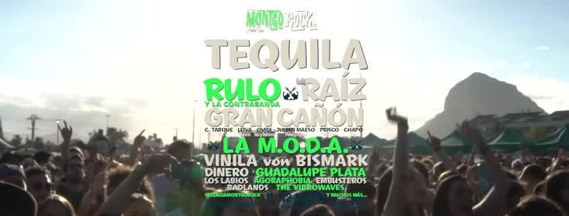 "6ª EDICION DEL ""MONTGOROCK XÀBIA FESTIVAL"" 2018."