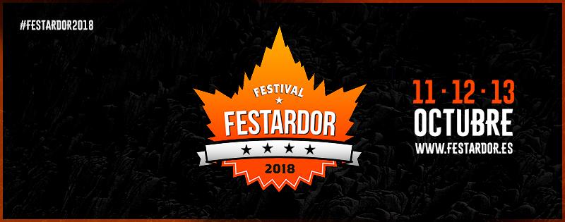 """HORARIOS Y MAPA DEL FESTIVAL """"FESTARDOR 2018""""."""