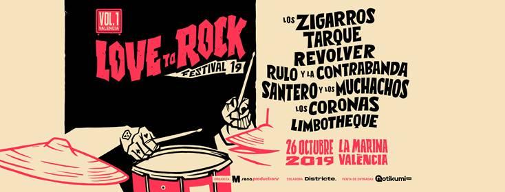 FESTIVAL «LOVE TO ROCK» EN LA MARINA DE VALENCIA.